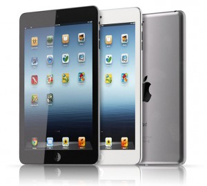Black and White iPad Mini