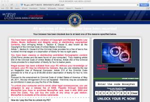 Mac FBI Phishing Scam